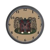 Funny Scrapbooker Wall Clock
