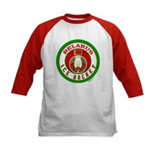 BY Belarus/Bielarus Ice Hockey Tee