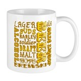 Beer Things Small Mug