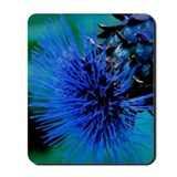 Blue Thistle Mousepad