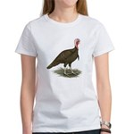Chocolate Tom Turkey Women's T-Shirt