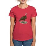 Chocolate Tom Turkey Women's Dark T-Shirt