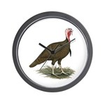 Chocolate Tom Turkey Wall Clock