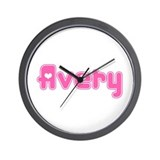 """Avery"" Wall Clock"