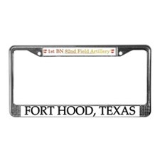 1st Bn 82nd FA License Plate Frame