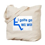 Funny Wii Tote Bag