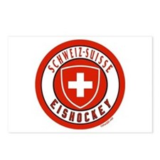 Switzerland Ice Hockey Postcards (Package of 8)
