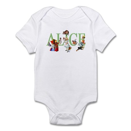 ALICE AND FRIENDS Infant Bodysuit