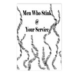 Men Who Stink Postcards (Package of 8)
