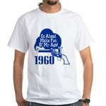 50th Birthday White T-Shirt