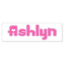 """Ashlyn"" Bumper Bumper Sticker"