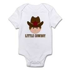 Cute Little Cowboy Infant Bodysuit