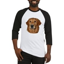 Head Study Golden Retriever Baseball Jersey
