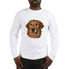 Head Study Golden Retriever Long Sleeve T-Shirt