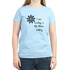 Flower : I am having a RA flare T-Shirt
