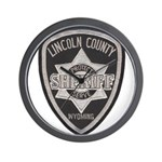 Lincoln County Deputy Sheriff Wall Clock