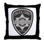 Lincoln County Deputy Sheriff Throw Pillow