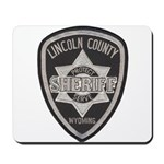 Lincoln County Deputy Sheriff Mousepad