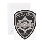 Lincoln County Deputy Sheriff Greeting Cards (Pk o