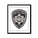 Lincoln County Deputy Sheriff Framed Panel Print