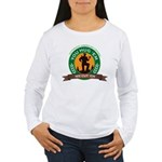 You Hug 'Em - We Cut 'Em Women's Long Sleeve T-Shi