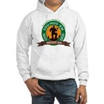 You Hug 'Em - We Cut 'Em Hooded Sweatshirt