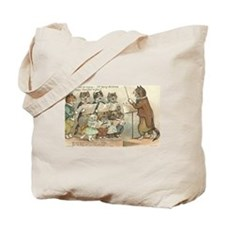 Cats Choral Society Vintage Art Tote Bag