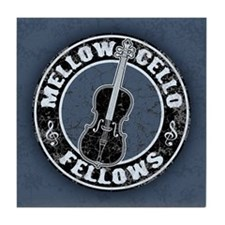 Mellow Cellos II Tile Coaster