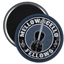 "Mellow Cellos II 2.25"" Magnet (10 pack)"