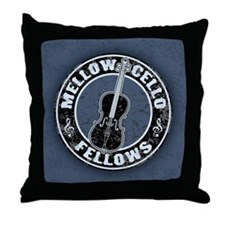 Mellow Cellos II Throw Pillow