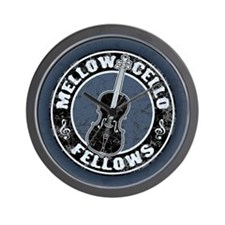 Mellow Cellos II Wall Clock