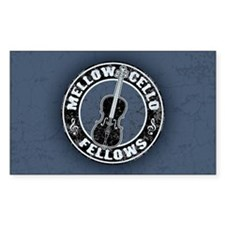 Mellow Cellos II Rectangle Decal