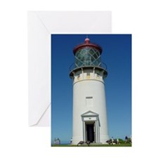 Kilauea Lighthouse Kauai Greeting Cards (Pk of 10)