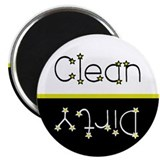Stars Clean/Dirty Dishwasher Magnet