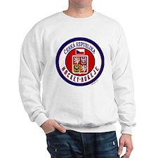CZ Czech Rep Ice Hockey Sweatshirt