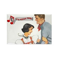 Polka Time Magnet