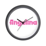 """Angelina"" Wall Clock"
