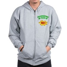 Funny Attitude 60th Birthday Zip Hoodie