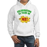 Funny Attitude 55th Birthday Jumper Hoody