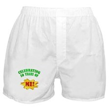 Funny Attitude 50th Birthday Boxer Shorts