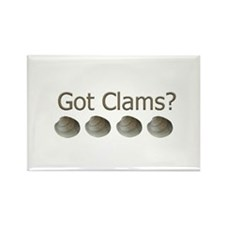 Got Clams? Rectangle Magnet