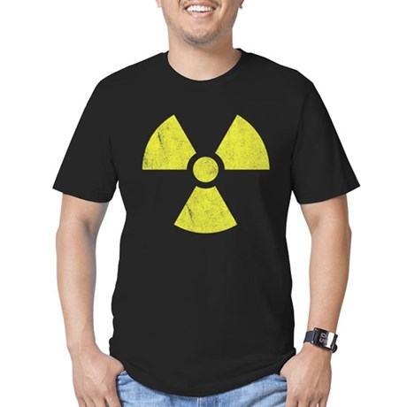 Radioactive Mens Fitted Dark T-Shirt