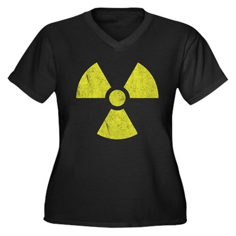 Radioactive Plus Size V-Neck Shirt