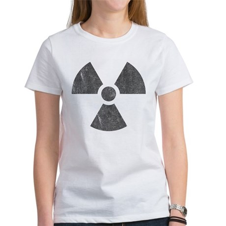 Radioactive Womens T-Shirt