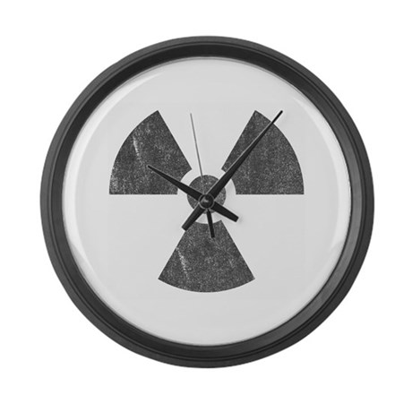 Radioactive Large Wall Clock