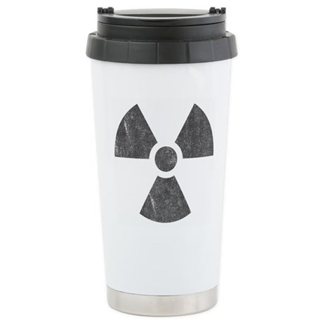 Radioactive Ceramic Travel Mug