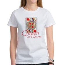 Queen of Hearts playing card Tee
