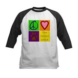 Peace love dogs Baseball Jersey