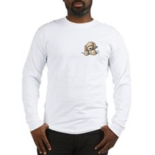 Bailey's Irish Crm Doodle Long Sleeve T-Shirt