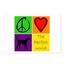 Perfect World: Black Lab - Postcards (Package of 8